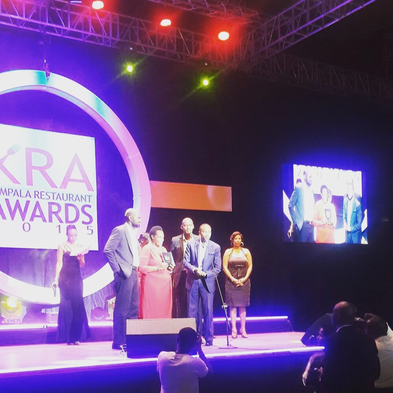 Humbled to be chosen by fans and judges to win the distinction of Kampala's Best Cafe at the 2015 Kampala Restaurant Awards. We promise to keep #brewingbetter every day. Thank you all for supporting us!