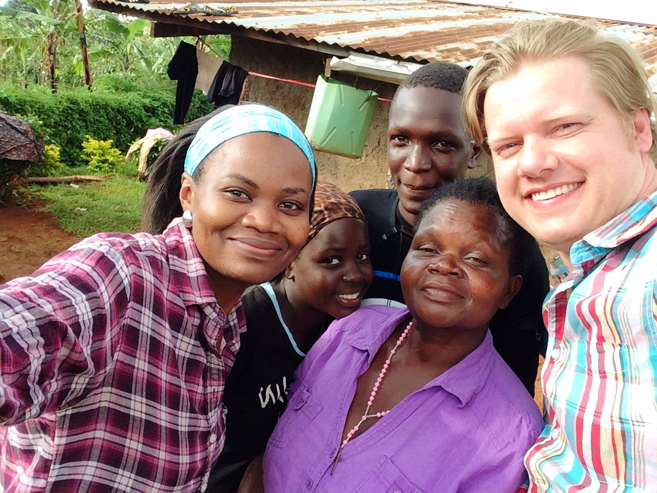 #BrewingBetter is more than just introducing better coffee brewing methods at our coffee shops. That was, of course, the place to start and ultimately the whole project relies on customers falling in love with better and better coffee.  But behind this is a new journey we have begun to positively impact the lives of Ugandan coffee farmers.  Women like Mama Alex (pictured above) who lives in a village near Sipi Falls, grow coffee for survival.  We dream of entering into long term relationships with such farmers to help them develop their coffee and improve both crop yields and quality.  Can Mama Alex move from survival farming to a truly thriving enterprise which creates a bright future for herself and her children?  That's the plan.