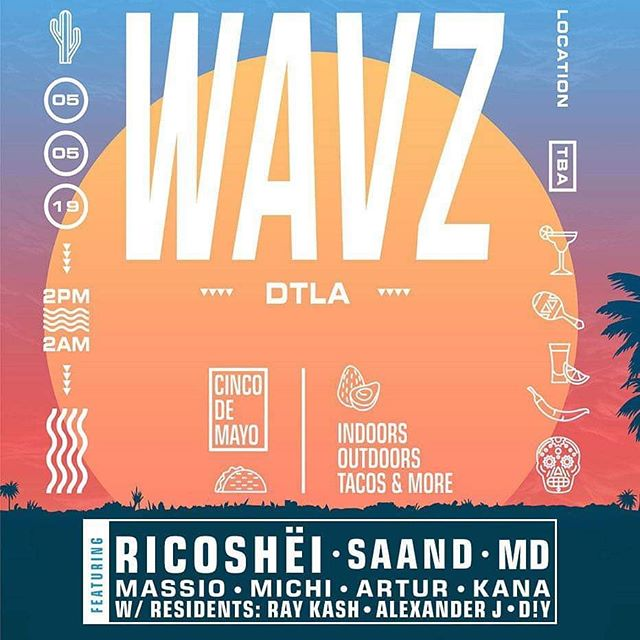 ROLL CALL!💥5 de Mayo and we're in LA! Best place to be - Come dance and drink some mezcal with us @mezcaleltinieblo @saandmusic @wavz_la @edgoldeveryday @massiomusik @michiinthehouse @artur.music @_kanakatana_ @raygasm @alexanderjnyc_ @k.mcmullen TKT LINK IN BIO #dtla #mezcal #foodies #dancemusic #losangeles #5demayo #houseandtechno