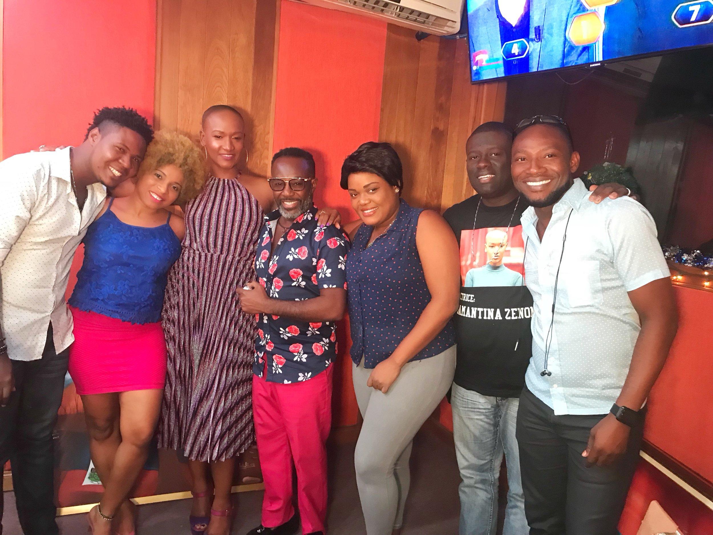 Radio Caraïbes Interview- Beautiful moment.