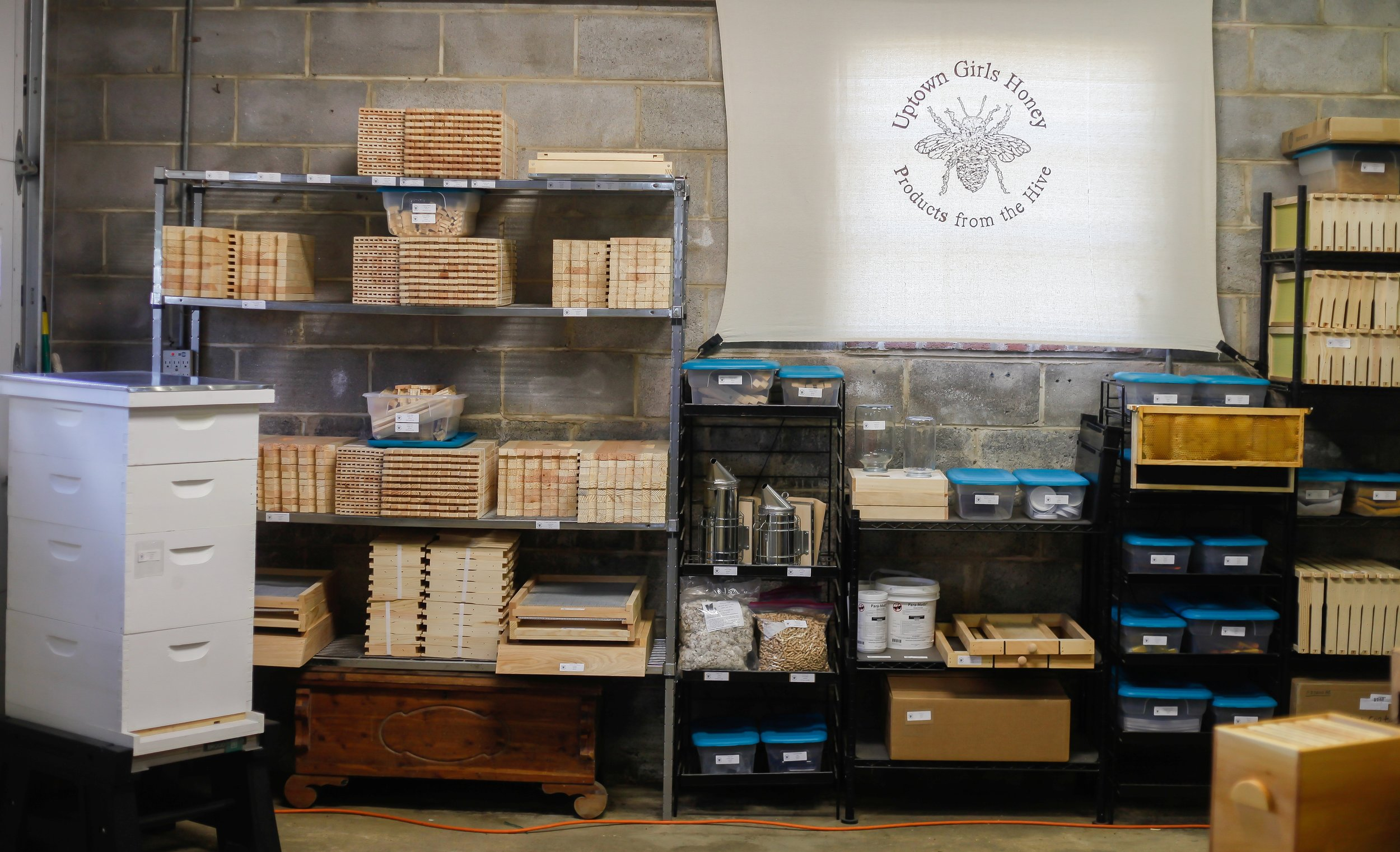 Full Line of Equipment - Everything you need to start or grow your apiary