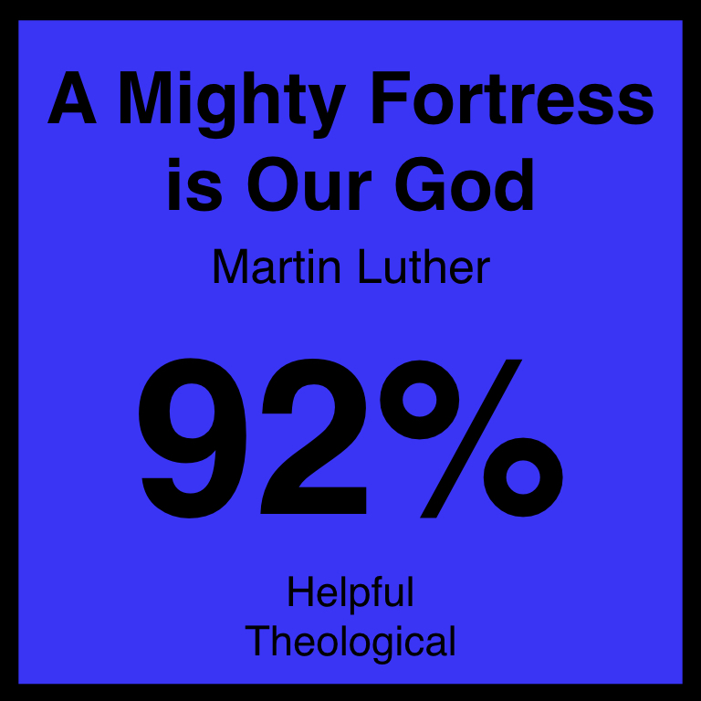 A Mighty Fortress is Our God - Check Out Our ArticleHymnary.Org ArticleSpotifyYouTube
