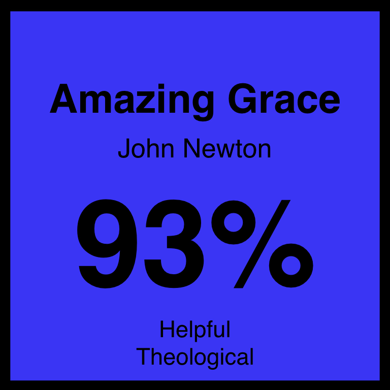 Amazing Grace - Article Coming Soon…Hymnary.org ArticleSpotifyYouTube