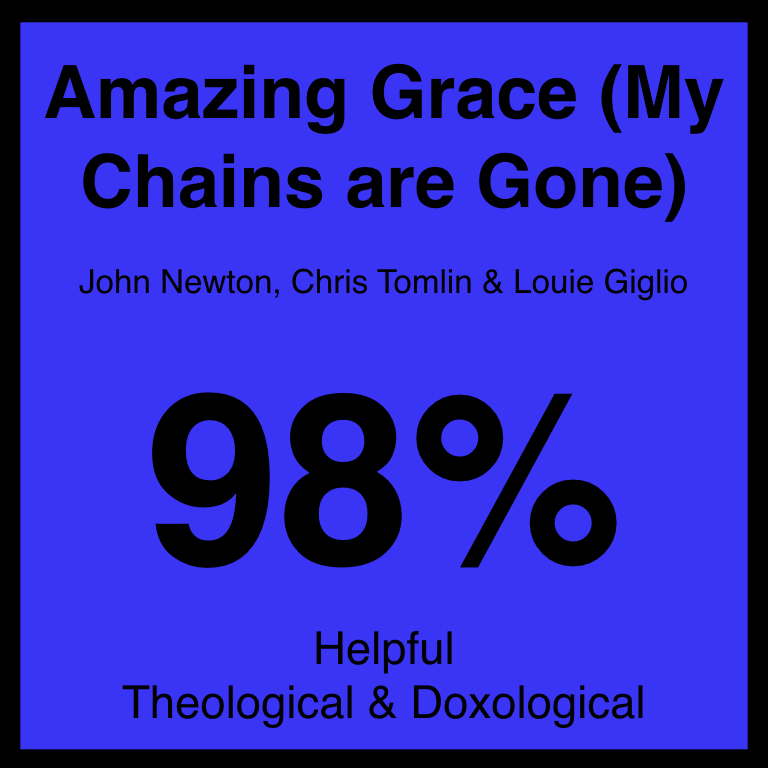 Amazing Grace (My Chains are Gone) - Check Out Our ArticleBaptist Press ArticleSpotifyYouTube