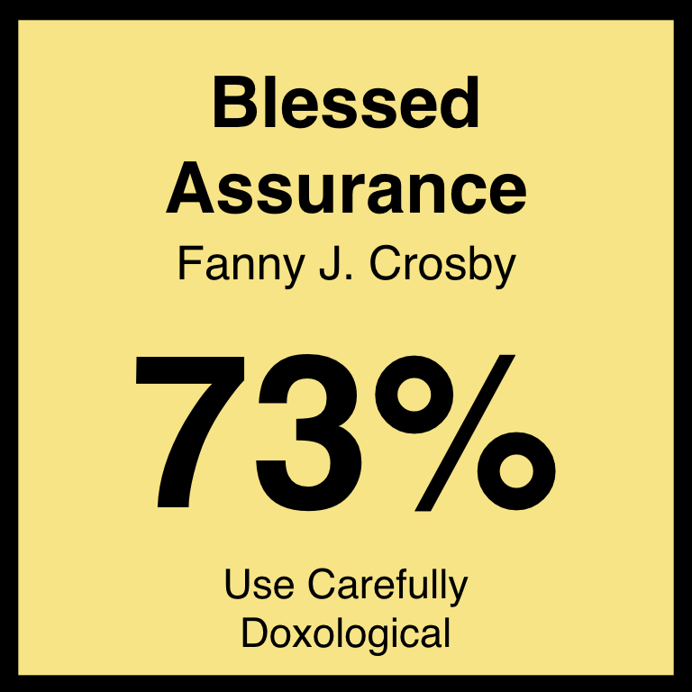 Blessed Assurance - Check Out Our ArticleHymnary.org ArticleSpotifyYouTube