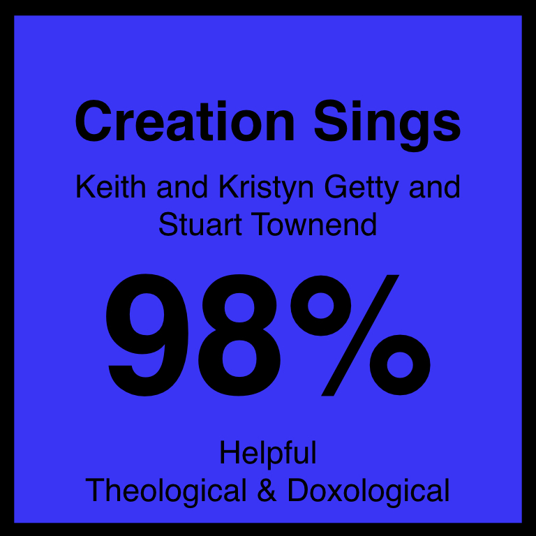 Creation Sings - Check Out Our ArticleStuart Townend's ArticleSpotifyYouTube
