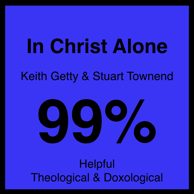 In Christ Alone - Article Coming Soon…The Gospel Coalition ArticleSpotifyYouTube