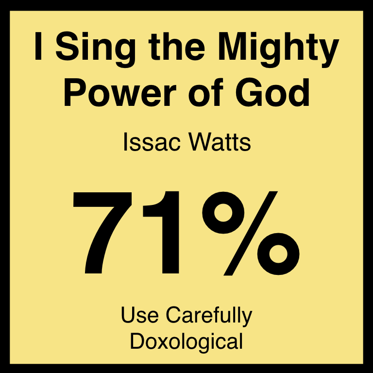 I Sing the Mighty Power of God - Article Coming Soon…Hymnary.org ArticleSpotifyYouTube