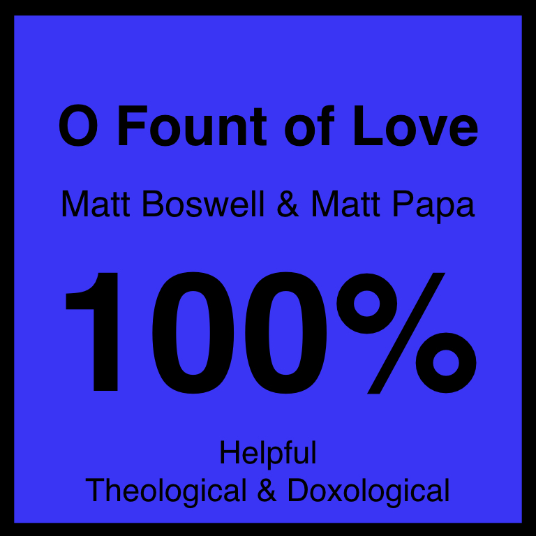O Fount of Love - Article Coming Soon…SpotifyYouTube