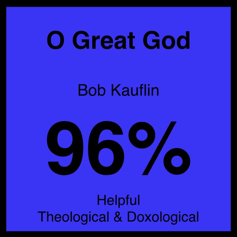 O Great God - Article Coming Soon…SpotifyYouTube