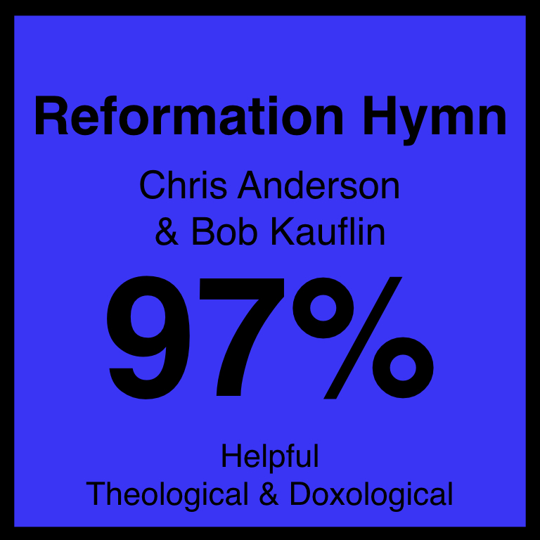 Reformation Hymn - Article Coming Soon…Worship Matters ArticleYouTube