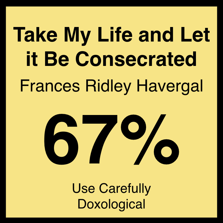 Take My Life and Let it Be Consecrated - Article Coming Soon…Hymnary.org ArticleSpotifyYouTube