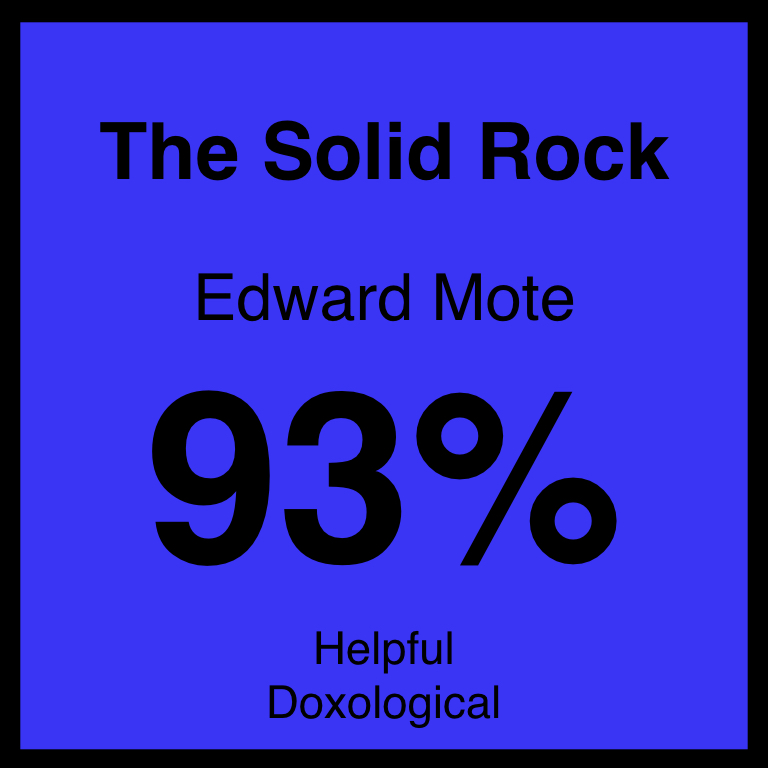 The Solid Rock - Article Coming Soon…Hymnary.org ArticleSpotifyYouTube