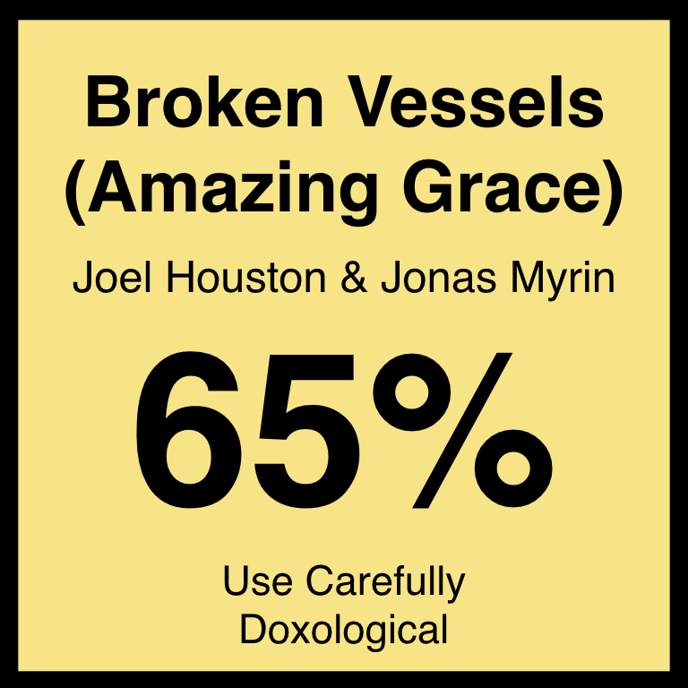 Broken Vessels (Amazing Grace) - Article Coming Soon…Hillsong's ArticleSpotifyYouTube