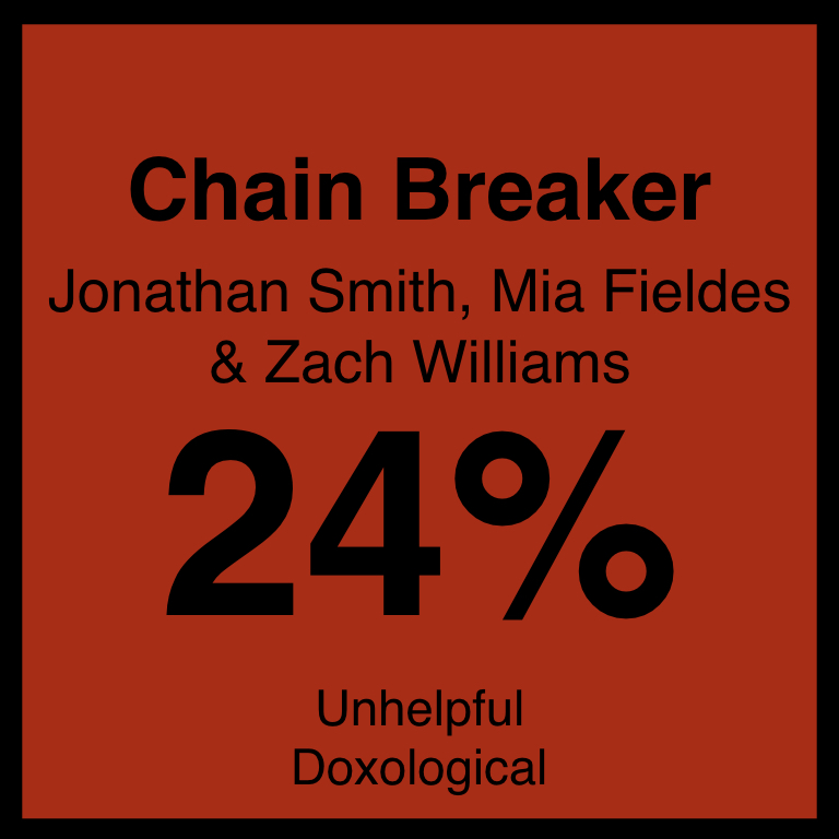 Chain Breaker - Article Coming Soon…New RElease Today's ArticleSpotifyYouTube