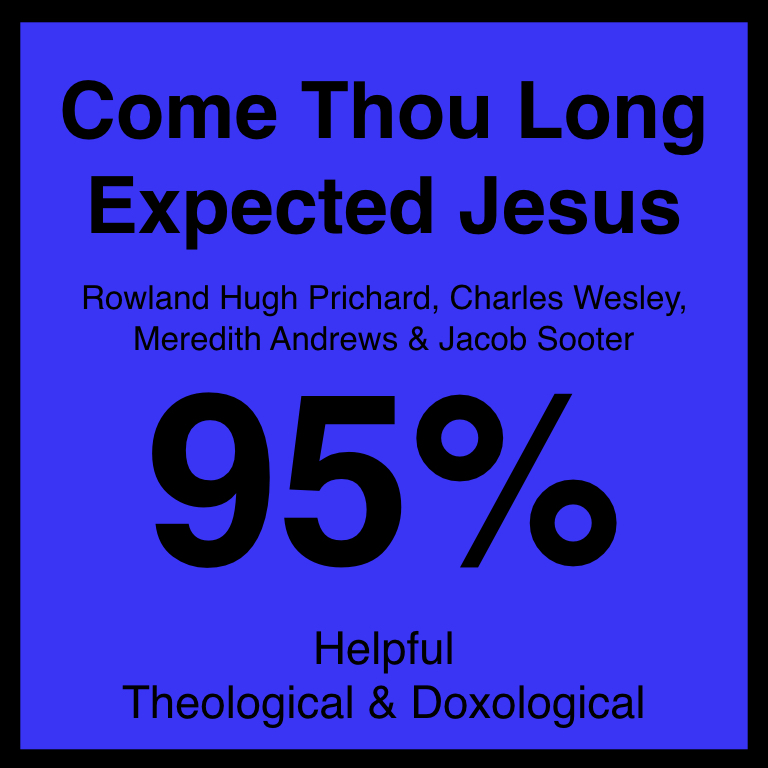 Come Thou Long Expected Jesus - Article Coming Soon…SpotifyYouTube