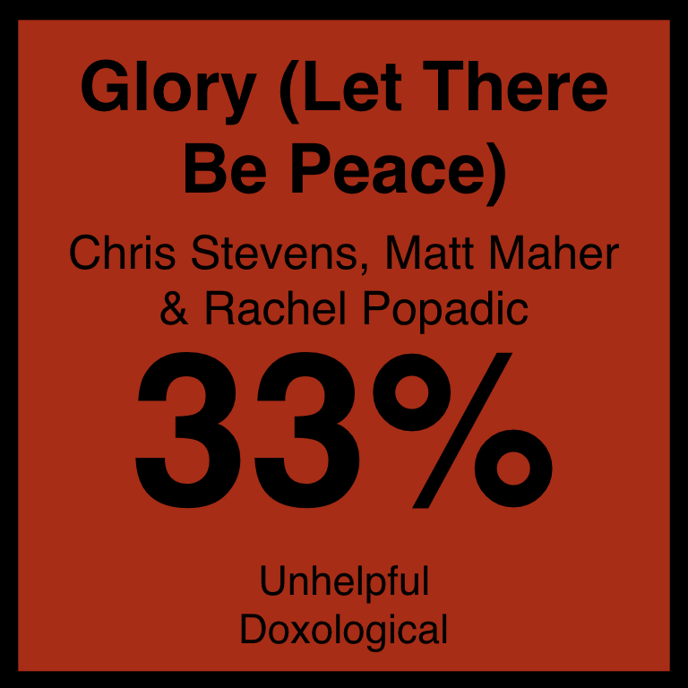 Glory (Let There Be Peace) - Article COming Soon…FreeCCM ArticleSpotifyYouTube
