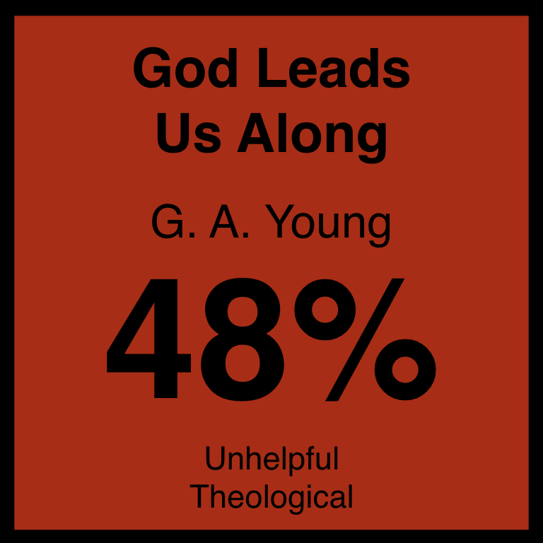 God Leads Us Along - Article Coming SOon…Hymnary.org ArticleSpotifyYouTube