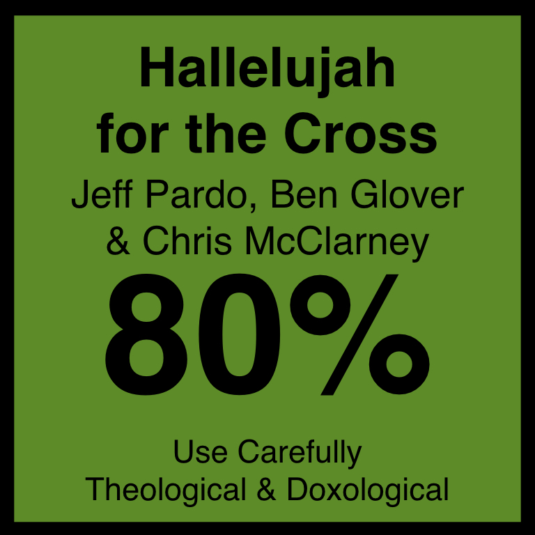 Hallelujah for the Cross - Article Coming SOon…SpotifyYouTube