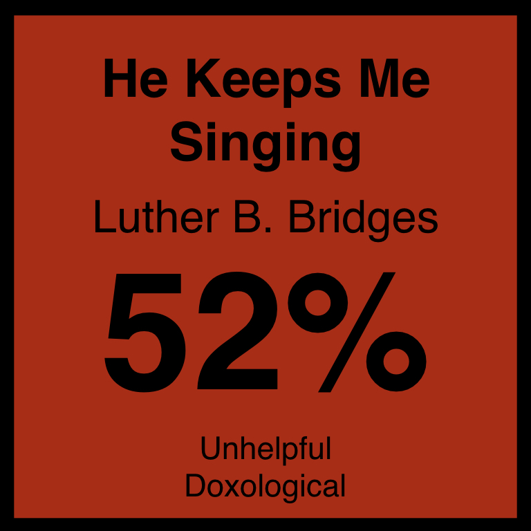 He Keeps Me Singing - Article Coming Soon…Hymnary.org ArticleSpotifyYouTube