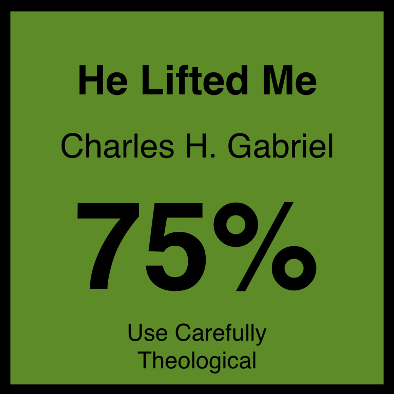 He Lifted Me - Article Coming SOon…Hymnary.org ArticleSpotifyYouTube