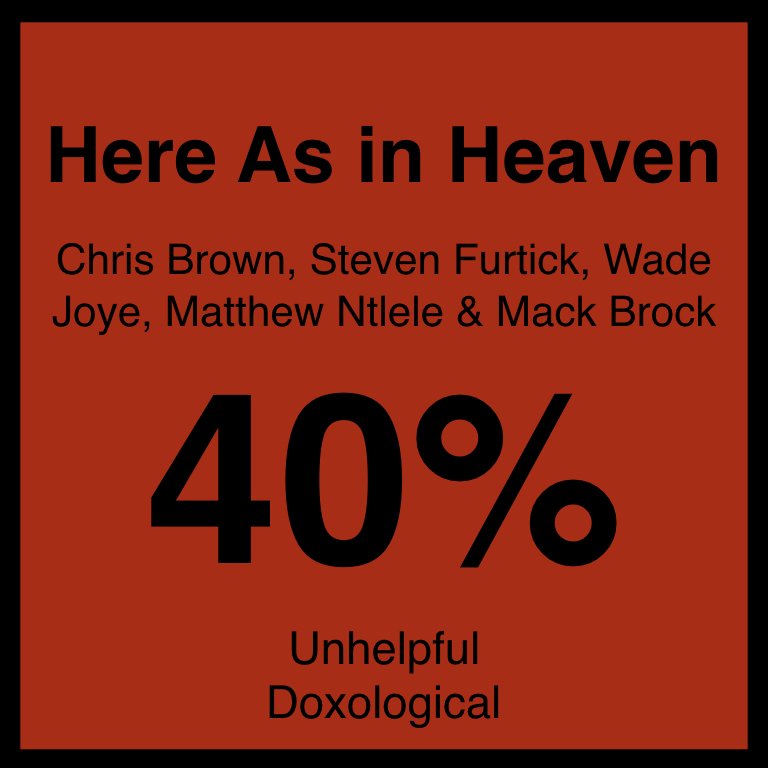 Here As in Heaven - Article Coming SOon…SpotifyYouTube
