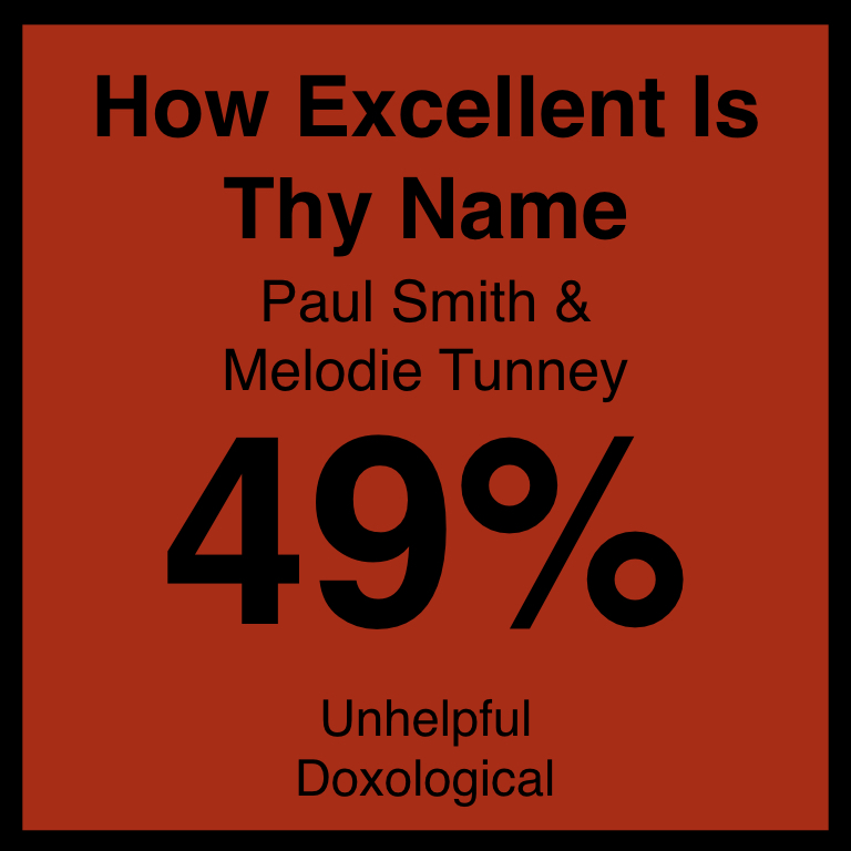 How Excellent Is Thy Name - Article Coming SOon…Hymnary.org ArticleSpotifyYouTUbe