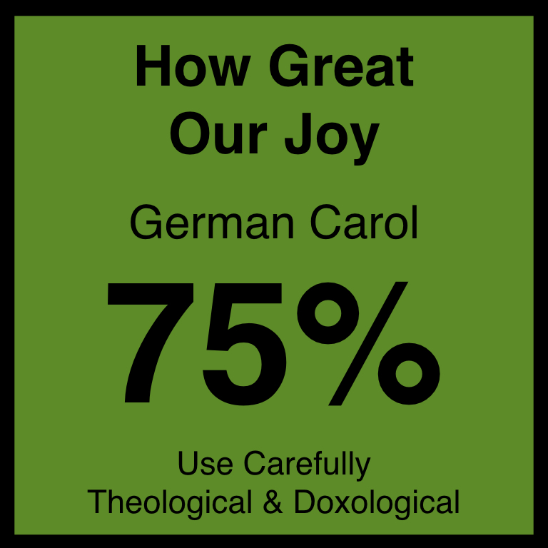 How Great Our Joy - Article Coming SOon…Hymnary.org ArticleSpotifyYouTUbe