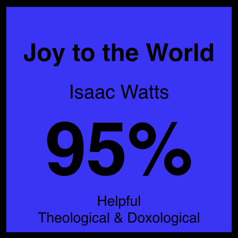 Joy to the World - Article Coming SOon…Hymnary.org ArticleSpotifyYouTUbe