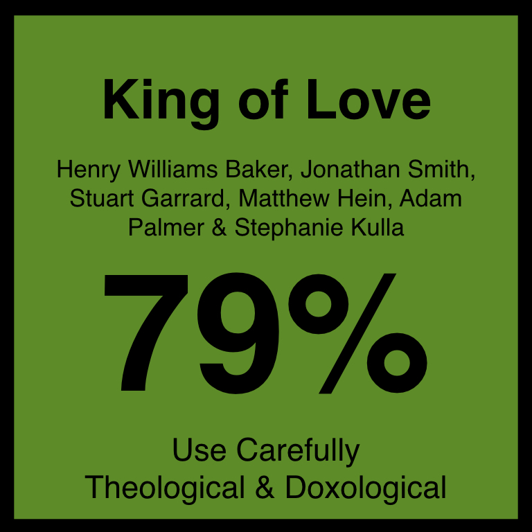 King of Love - Article Coming SOon…Hymnary.org ArticleSpotifyYouTube