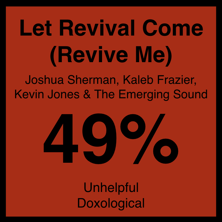Let Revival Come (Revive Me) - Article Coming Soon…SpotifyYouTUbe