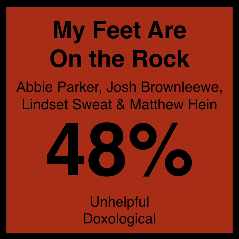My Feet Are On the Rock - Article Coming SOon…SpotifyYouTube