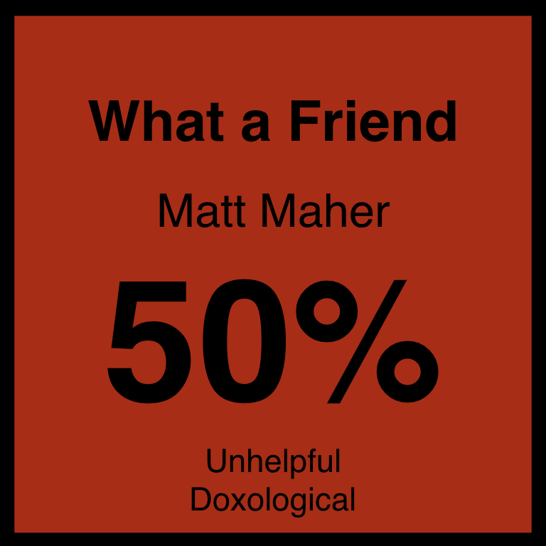 What a Friend - Article Coming Soon…SpotifyYouTube
