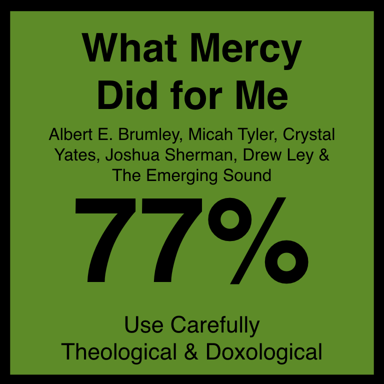 What Mercy Did for Me - Article Coming Soon…SpotifyYouTUbe