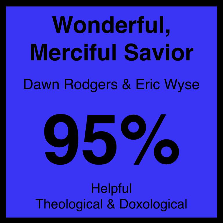 Wonderful, Merciful Savior - Article Coming Soon…SpotifyYouTUbe