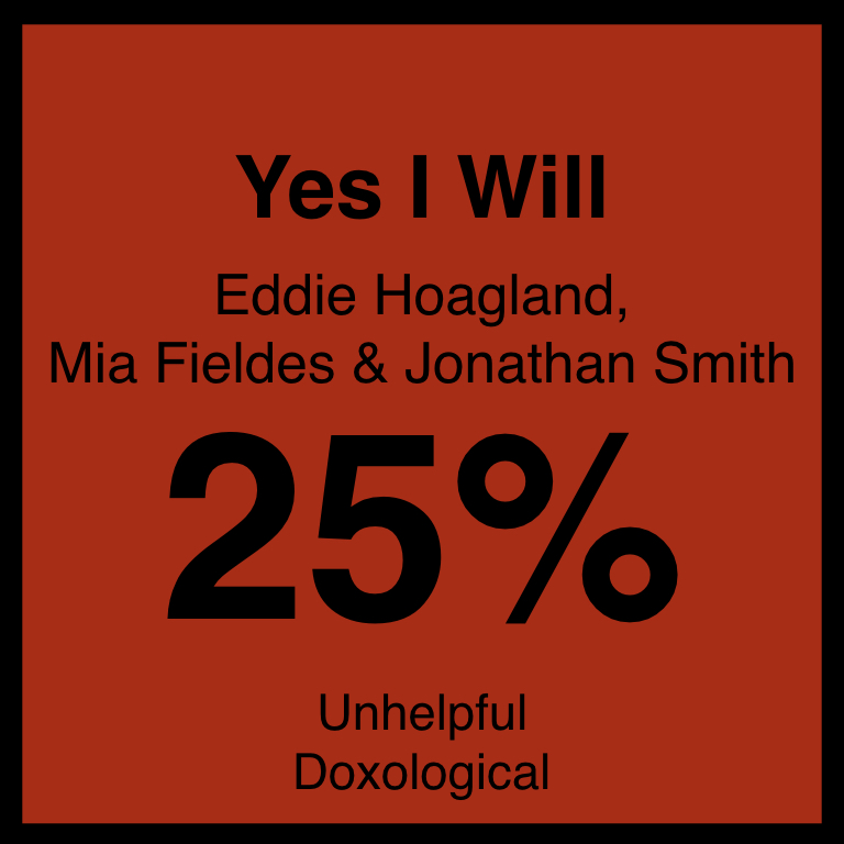 Yes I Will - Article Coming Soon…SpotifyYOuTUbe
