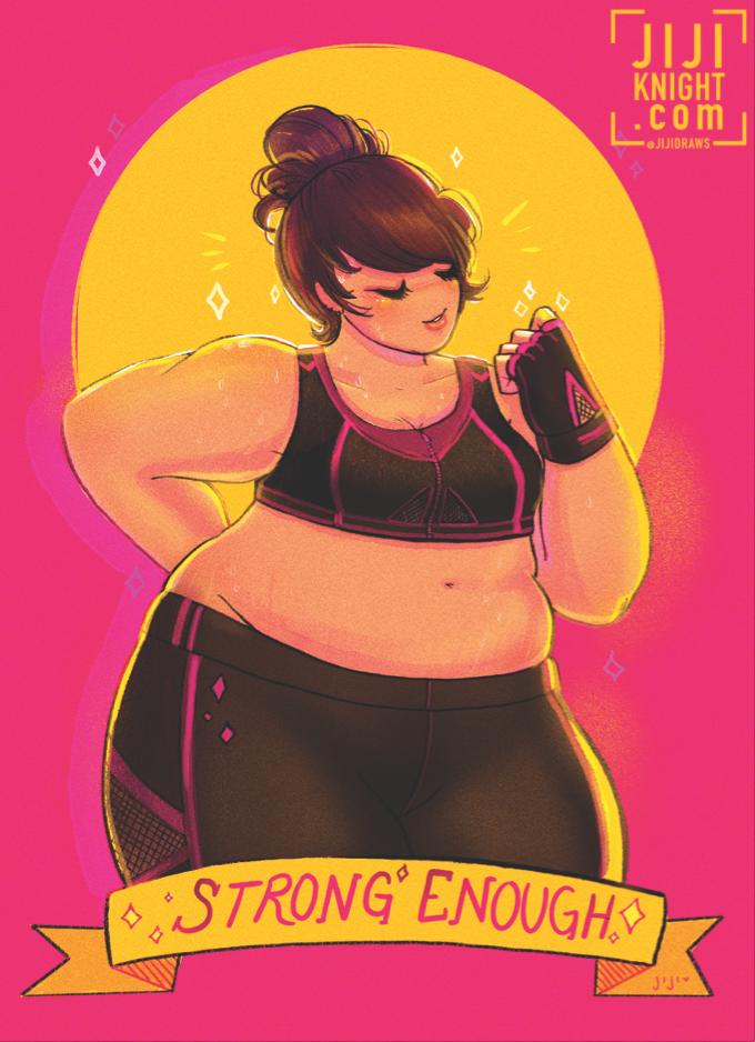 kickstarter-strong-enough-body-positive-print-jijidraws.png