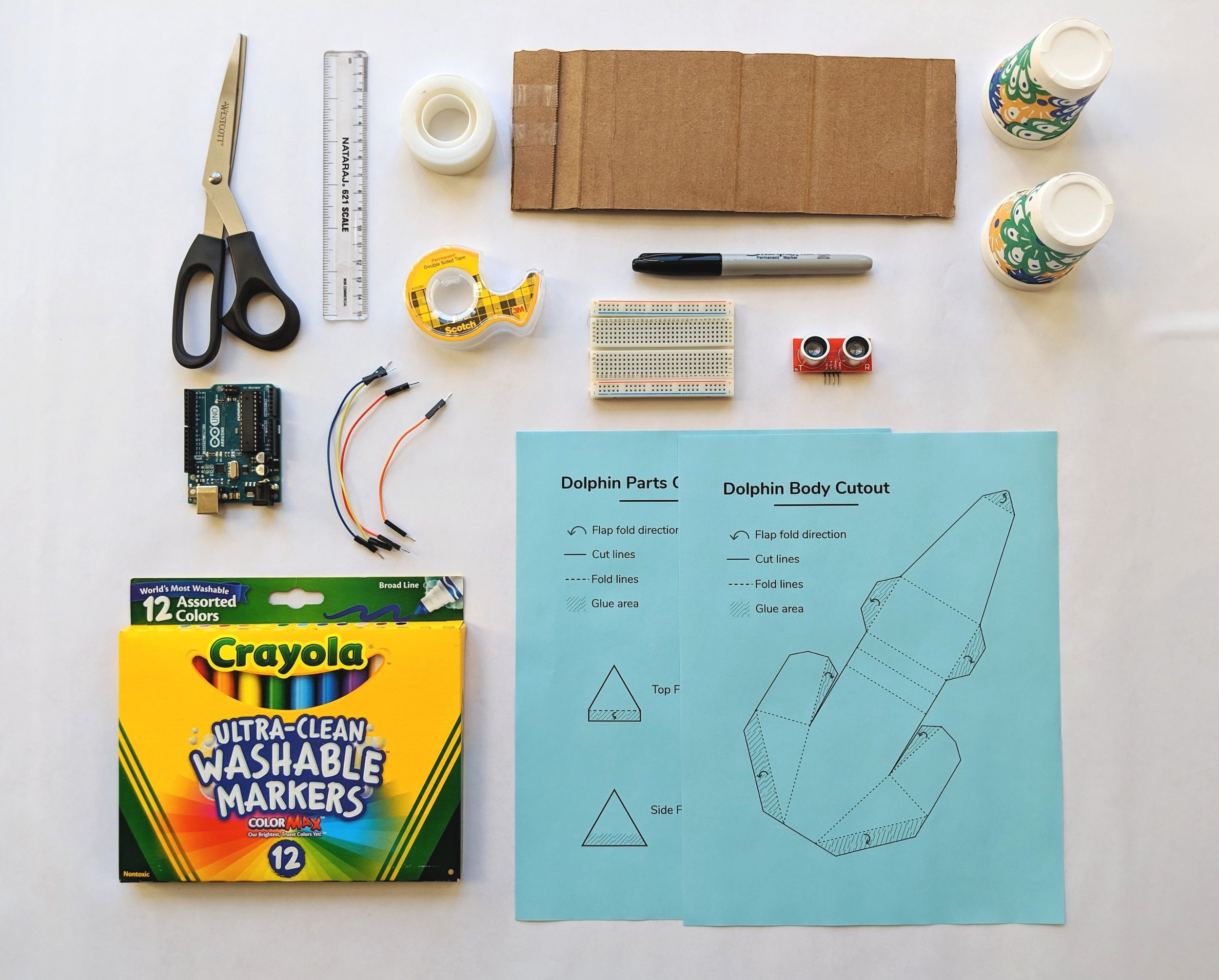 Echolocation Kit and other craft tools