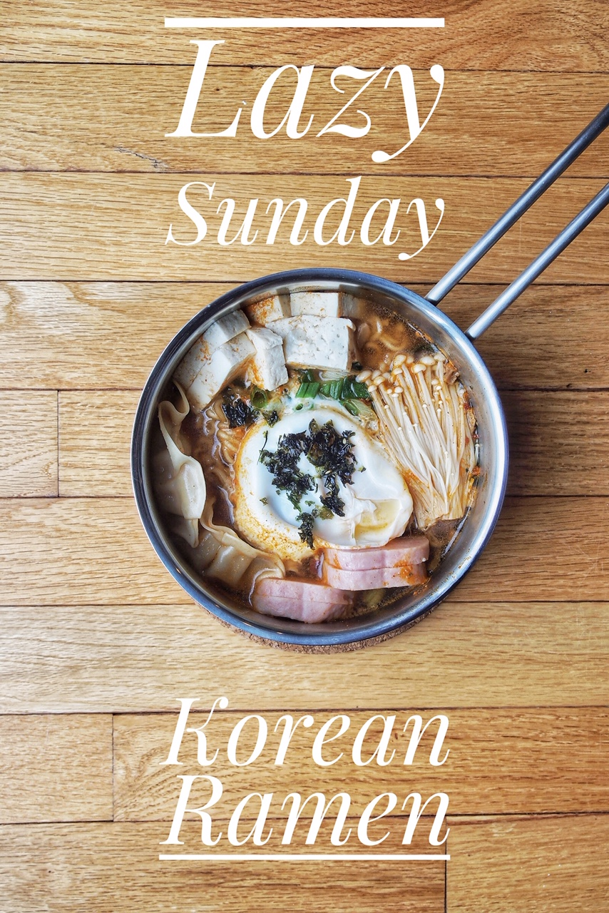 Lazy Sunday The Ultimate Korean Ramen