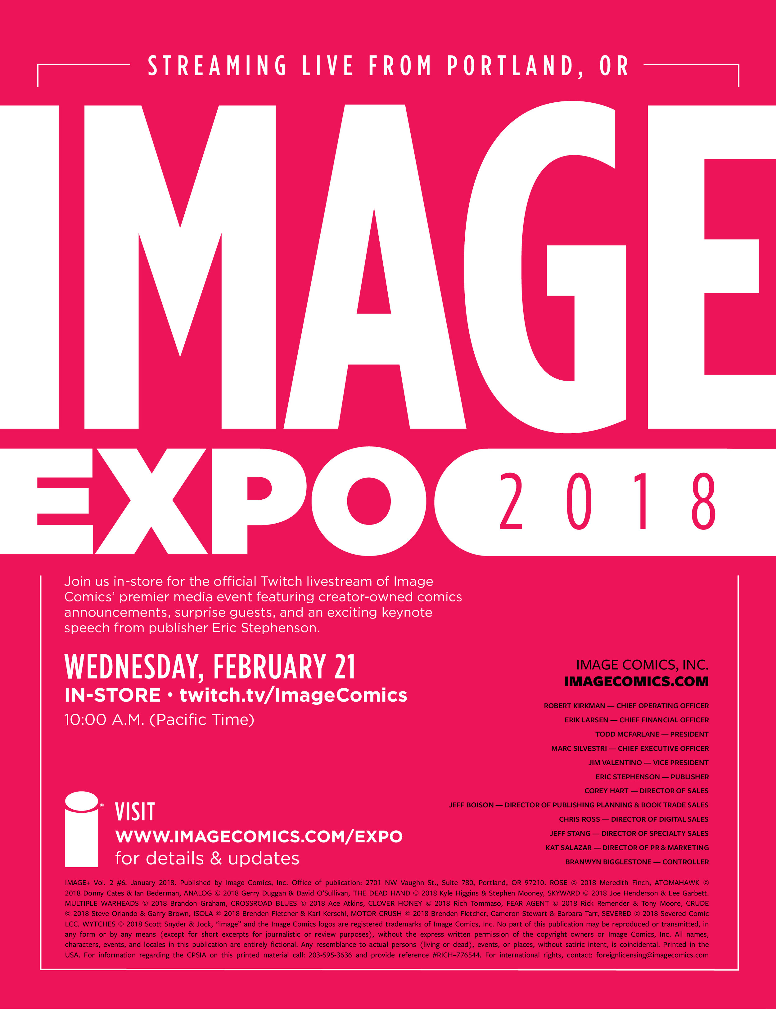 Image Expo 2018 ad