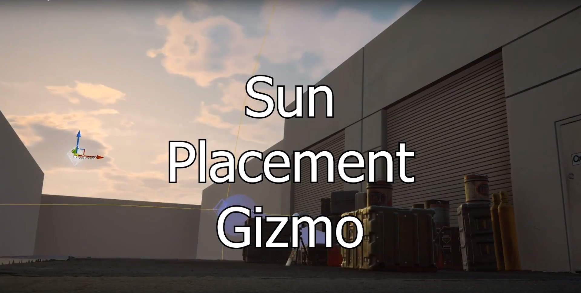 The Sun Placement Gizmo is an intuitive way to place your sun wherever you'd like. Horizon has been modified to react more accurately, getting closer to real-life everyday.