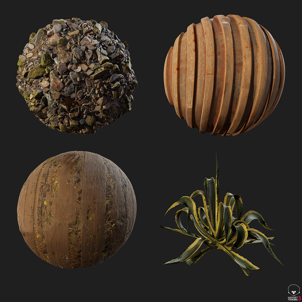 SKIP STARTING FROM SCRATCH - ——————————————Using Happy Mushroom's proprietary asset library, Quixel, and others. We are able to start projects with a large amount of information. Achieving a high level of quality early on.Ex. Photogrammetry Assets VIDEO
