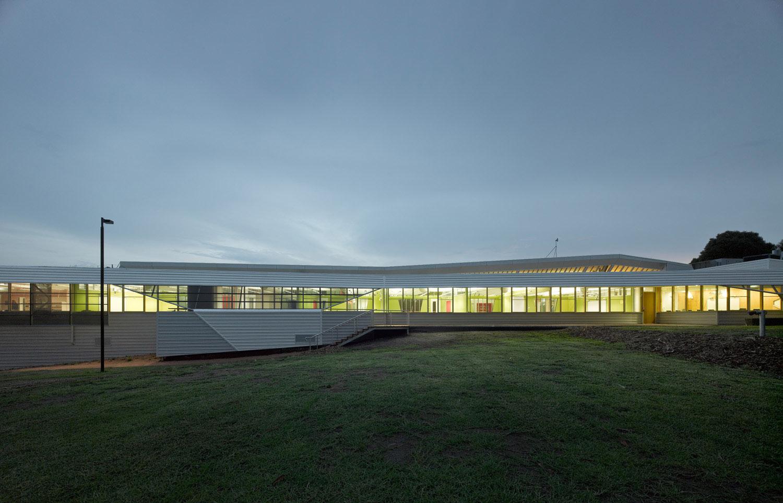 Paul Morgan Architects GippsTAFE Learning Centre, Leongatha exterior