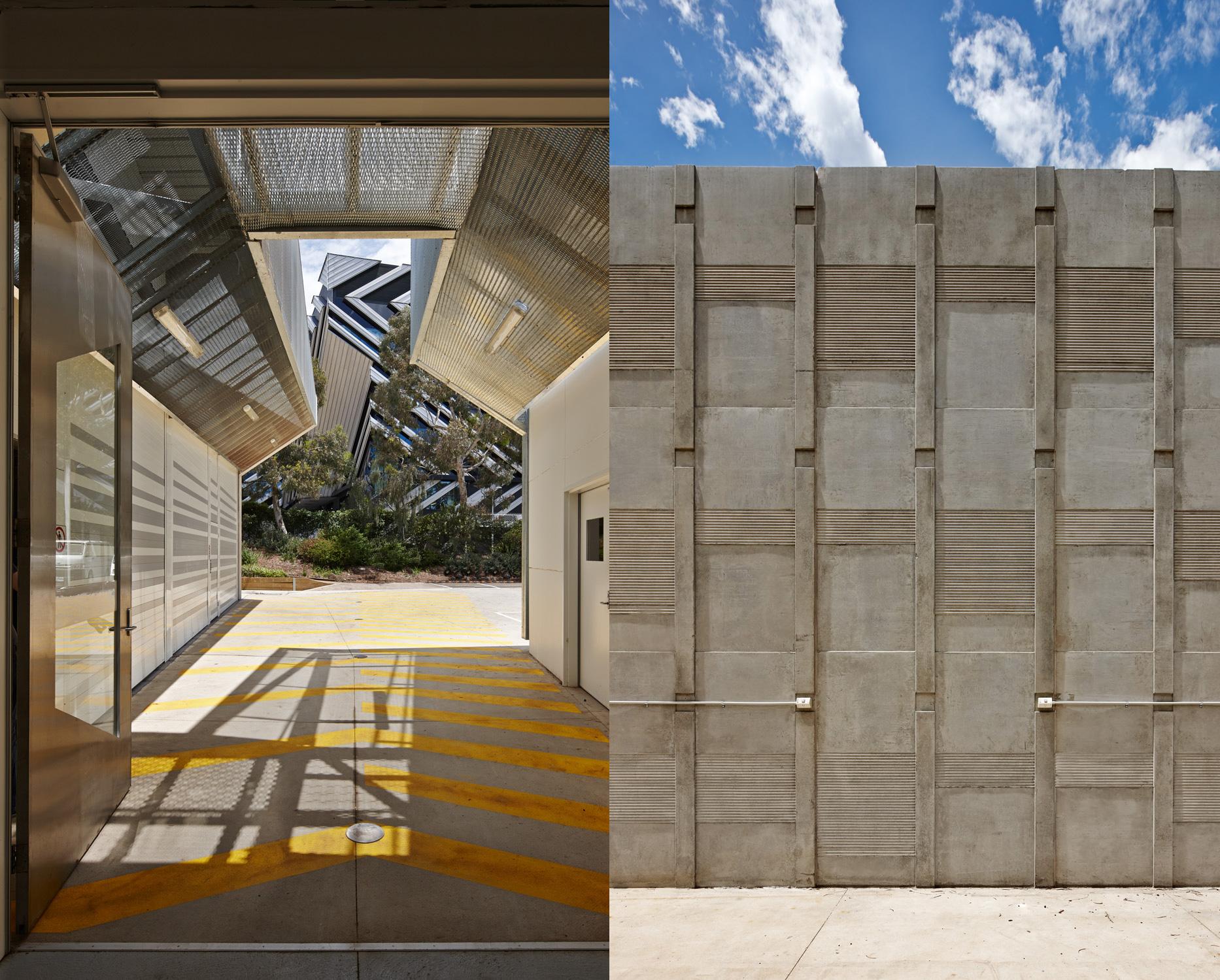 Monash University Building 40 Workshops Paul Morgan Architects