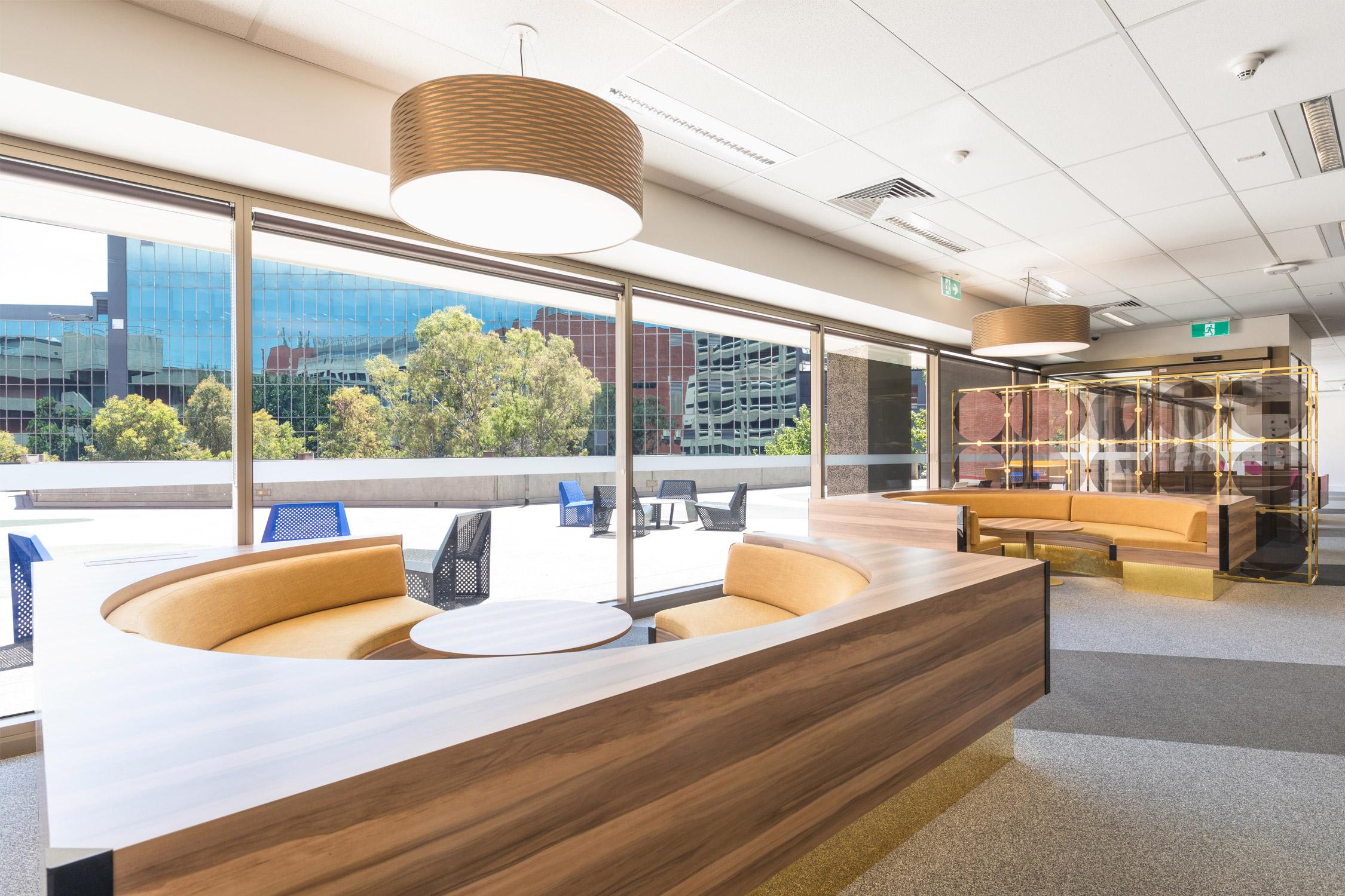 Monash University Postgraduate Association Lounge Paul Morgan Architects