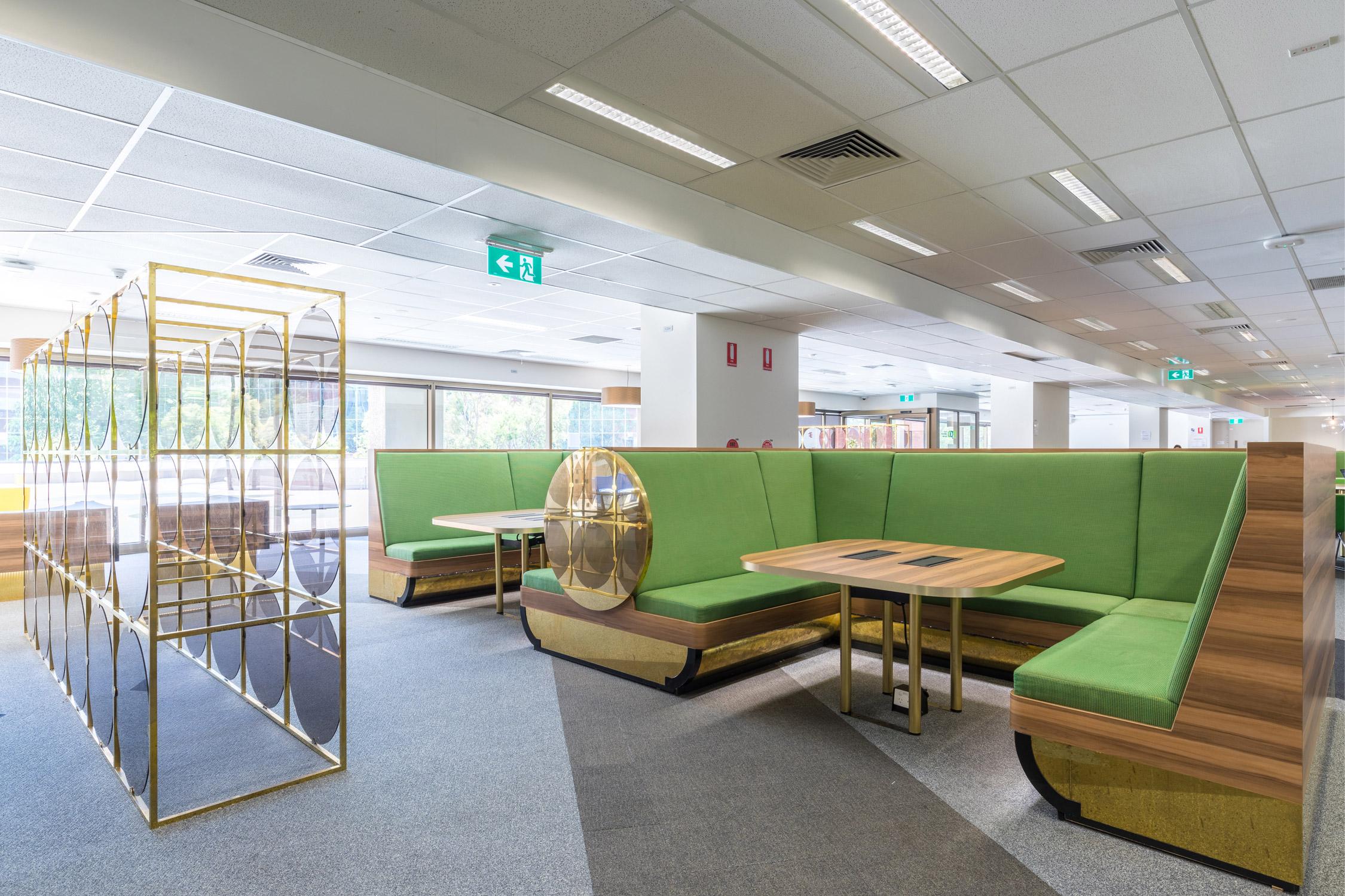 Paul Morgan Architects Monash University, Postgraduate Association Lounge Caulfield