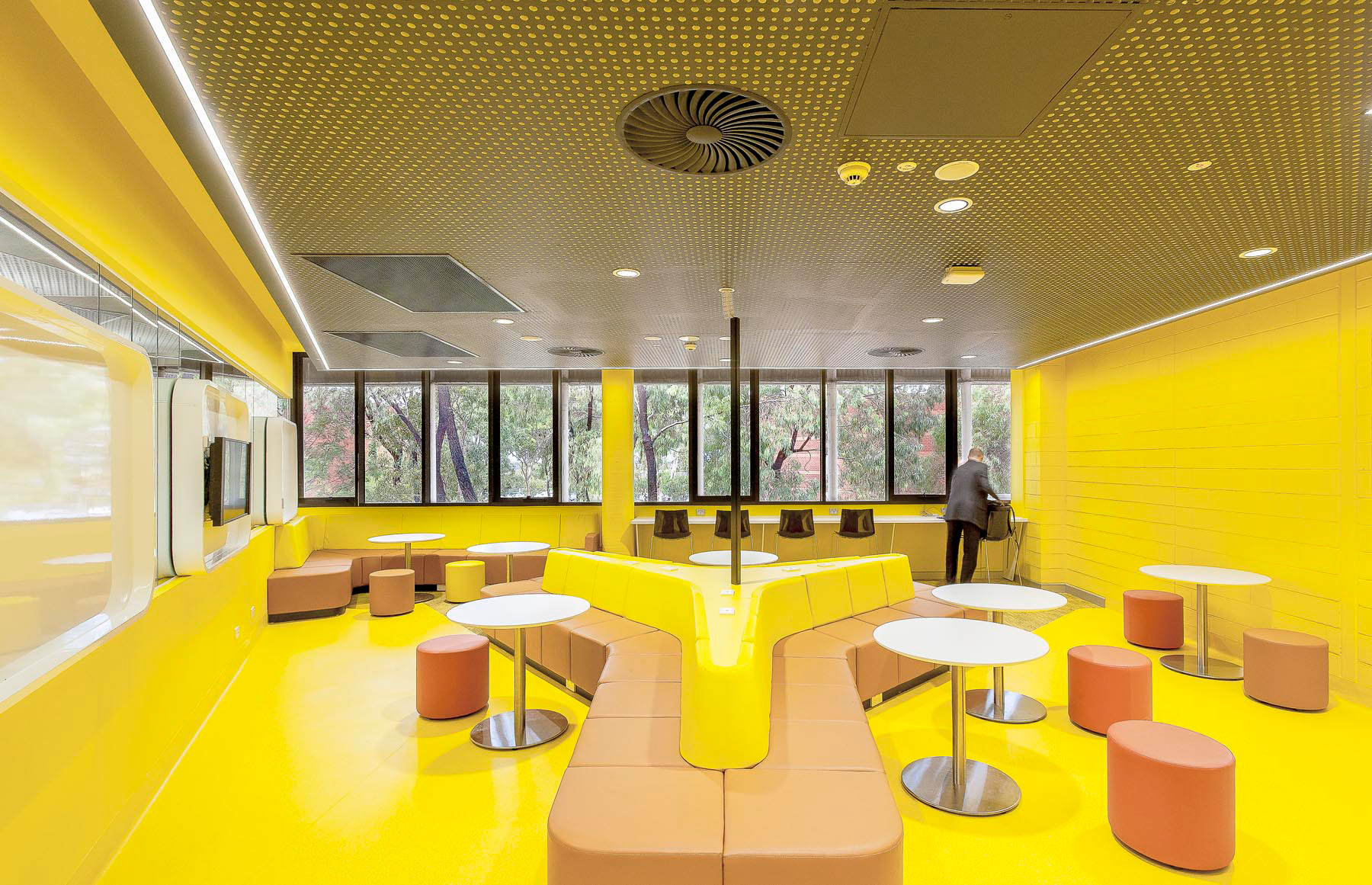 Paul Morgen Architects RMIT University, Building 205 Teaching Spaces