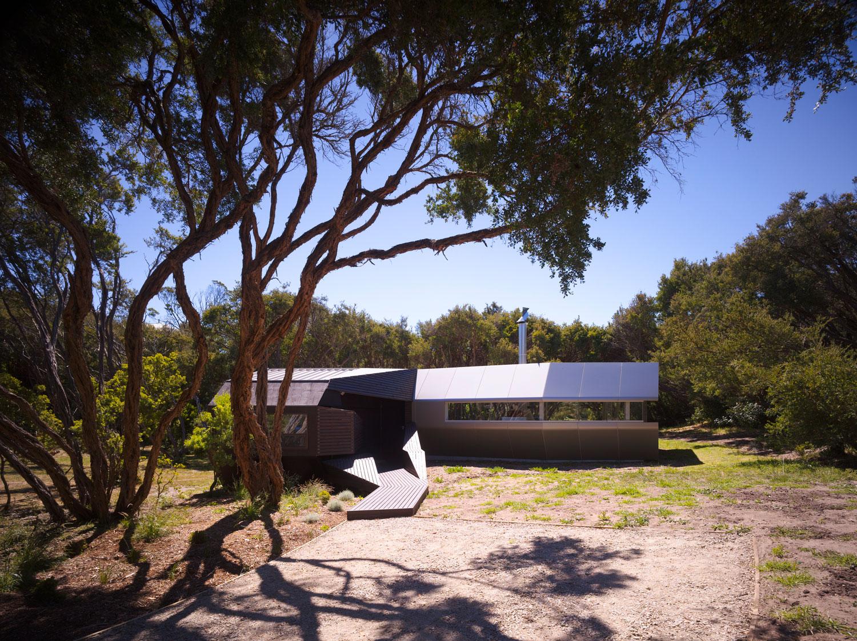 Paul Morgan Architects Cape Schanck House exterior view