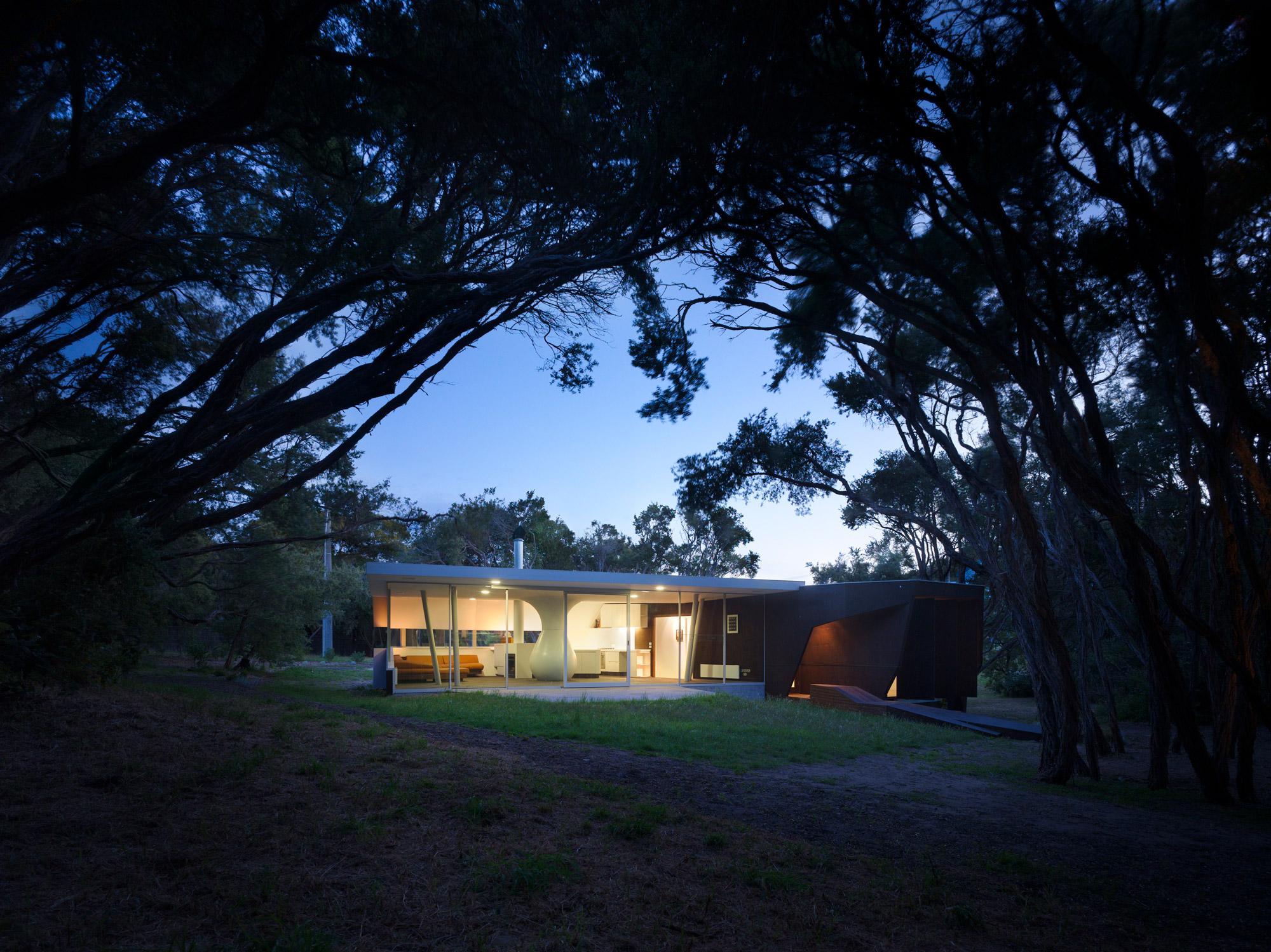 Paul Morgan Architects Cape Schanck House exterior