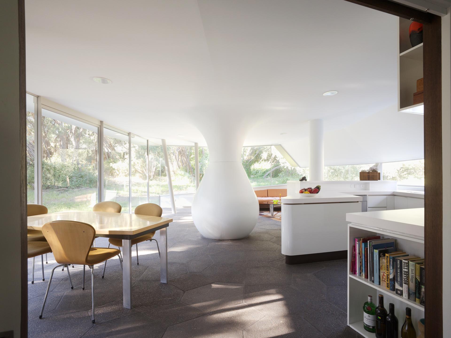 Paul Morgan Architects Cape Schanck House interior